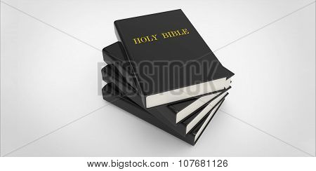 3D Holy Bible Books