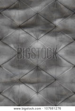 Gray grunge sofa pattern background