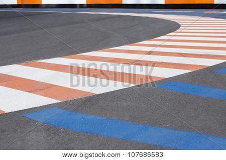Karting Circuit Bend.