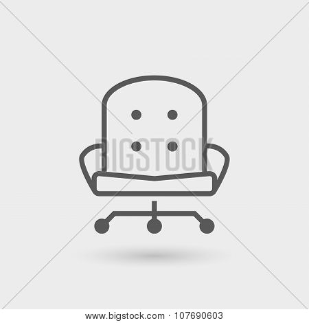 Manager Thin Line Icon