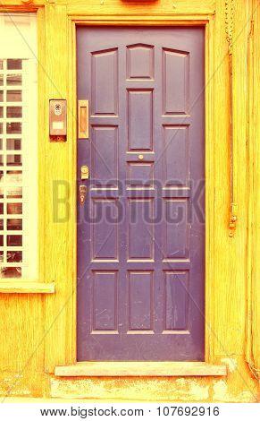 Old Door In London