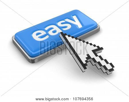 Cursor and button easy