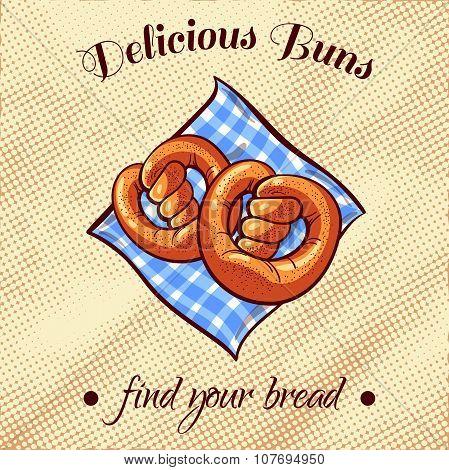Bread On A Napkin 15