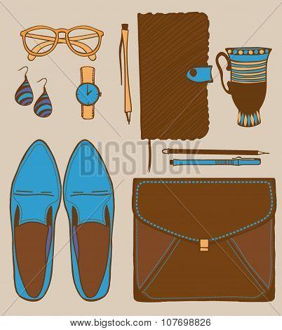 Set Of Women Accessories