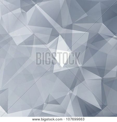 Black and White Abstract Triangles Vector Background