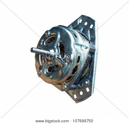 Power Tool Dynamo isolated on white background.