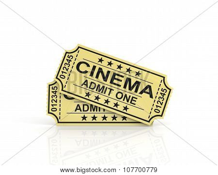 Two Tickets For Cinema.