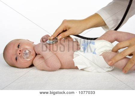 Baby And Doctor