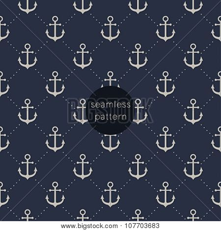 Seamless anchor pattern.