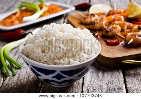 White Cooked Rice