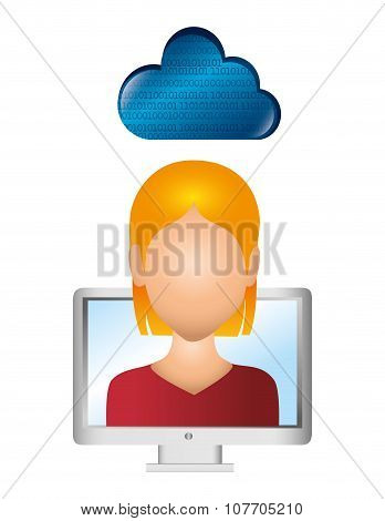 Cloud computing and hosting graphic design