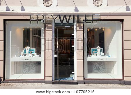 Freywille Boutique In Vilnius, Lithuania.