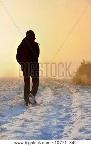 Walking On The Snow