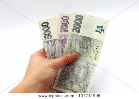 Money In Hand, Czech
