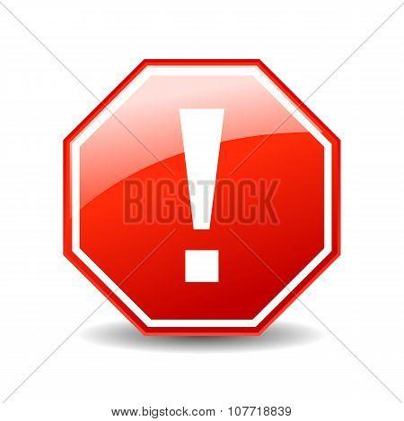 Error exclamation icon