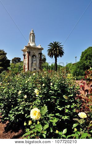 Queen Victoria Memorial Garden, Melbourne