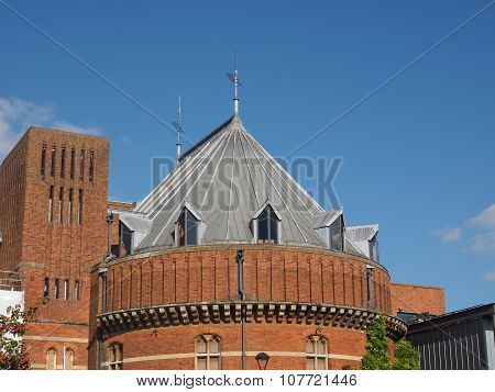 Royal Shakespeare Theatre In Stratford Upon Avon