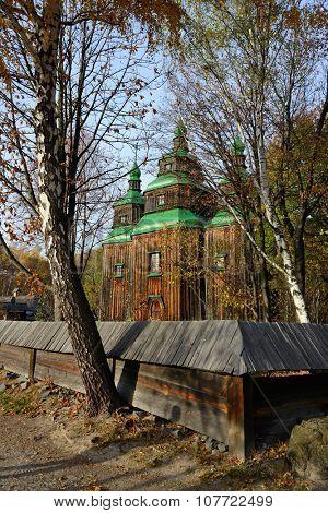 Traditional Ukrainian wooden architecture