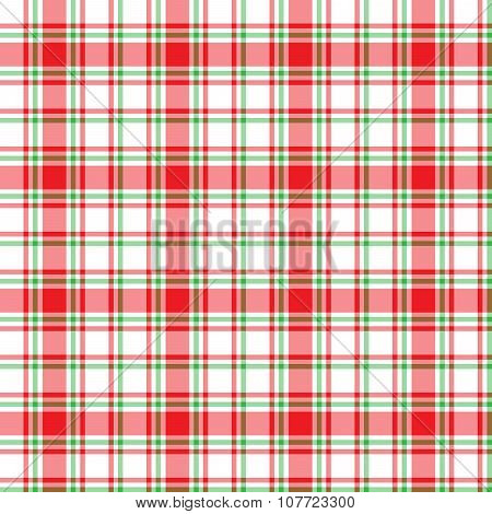 Seamless pattern Scottish cage