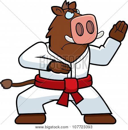 Karate Boar