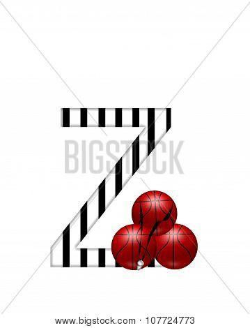 Alphabet Referee Z