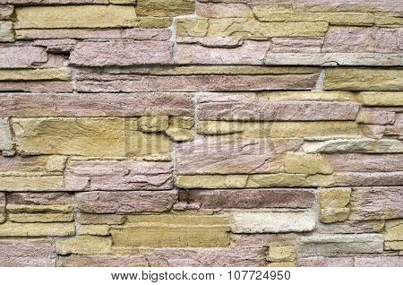Decorative Relief Cladding Slabs Imitating Stones