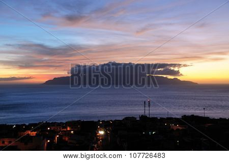 Sunset In Cabo Verde