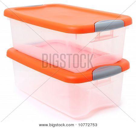 Bin do recipiente de armazenamento de plástico