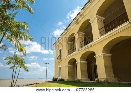 Colonial house in Belem do Para, Brazil