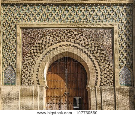 Ancient Gates In Meknes, Morocco
