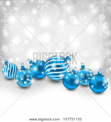 Christmas Abstract Shimmering Background