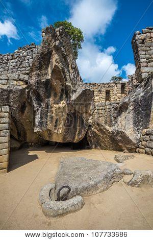 Temple Of The Condor, Machu Picchu, Peru