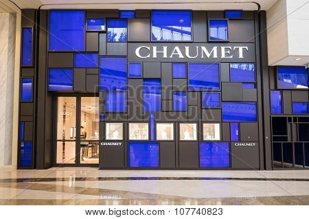 Chaumet Fashion Boutique Display Window. Hong Kong