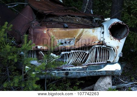Rusty Car Wreck
