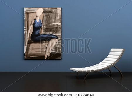 chair&painting