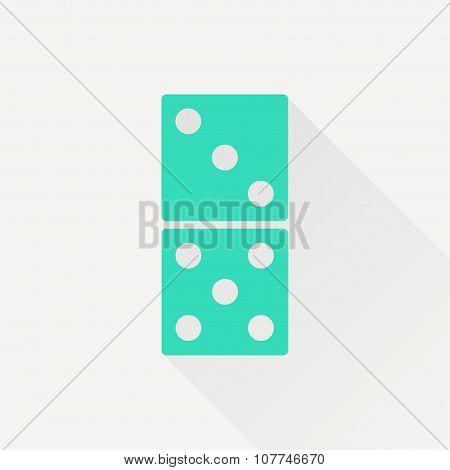 Vector domino icon