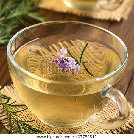 Fresh Rosemary Tea