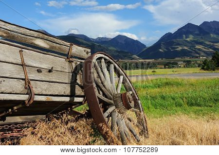 Broken Down Wagon