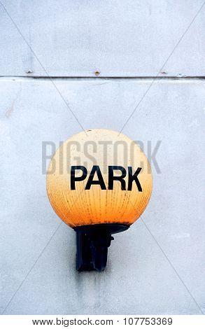 Antique Park Lamp