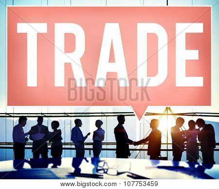 Trade Marketing Commercial Merchandise Concept