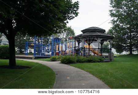 Gazebo and Playground