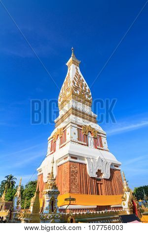 Phra That Phanom Chedi In Wat Phra That Phanom, Nakhon Phanom Province