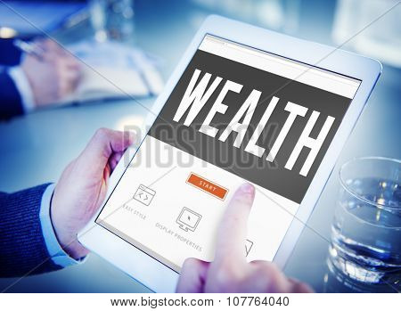 Wealth Financial Growth Income Economy Concept