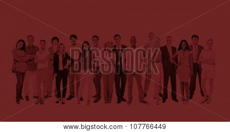 Group Multi-Ethnic Diverse Occupational People Concept