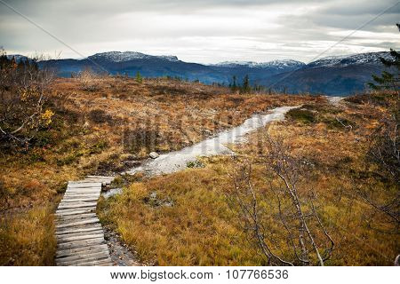 Landscapes in mountains, Norway
