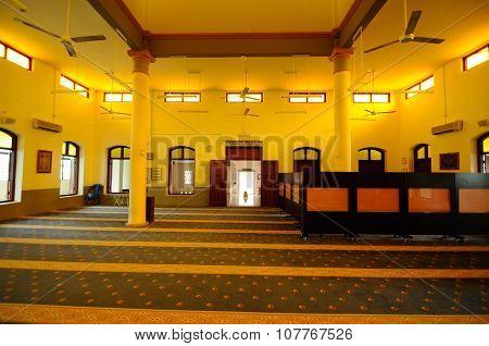 Mimbar of the Kampung Paloh Mosque in Ipoh, Malaysia