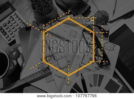 Box Packaging Measurement Design Dimension Concept