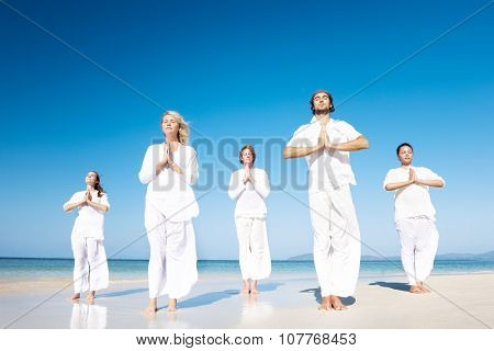 Meditation Yoga Wellness Peaceful Relaxation Concept