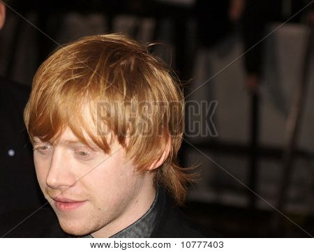Rupert Grint At The Harry Potter And The Deathly Hallows Premiere In Central London 11 November 2010