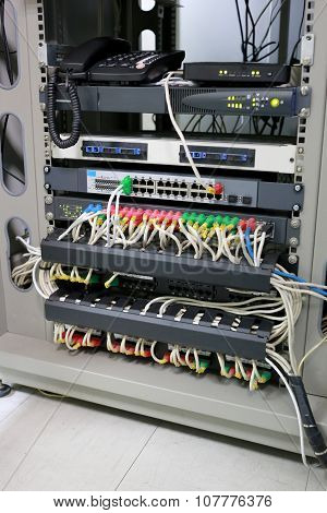 Control Cabinet Network System.